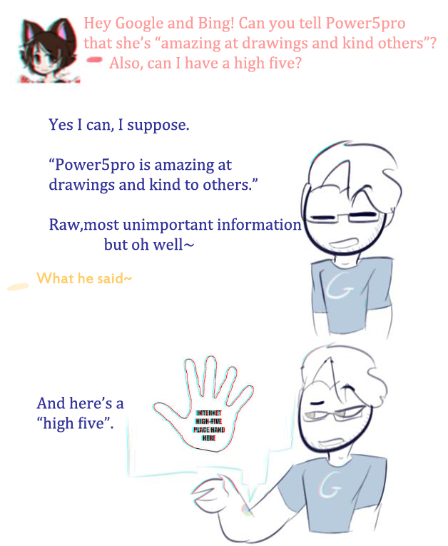 Ask! Internet High Five~ by power5pro