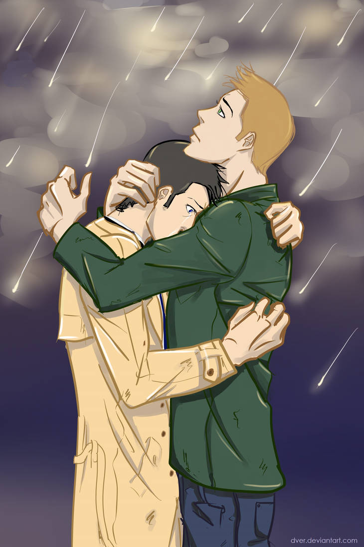 Destiel 8x23 by Dver