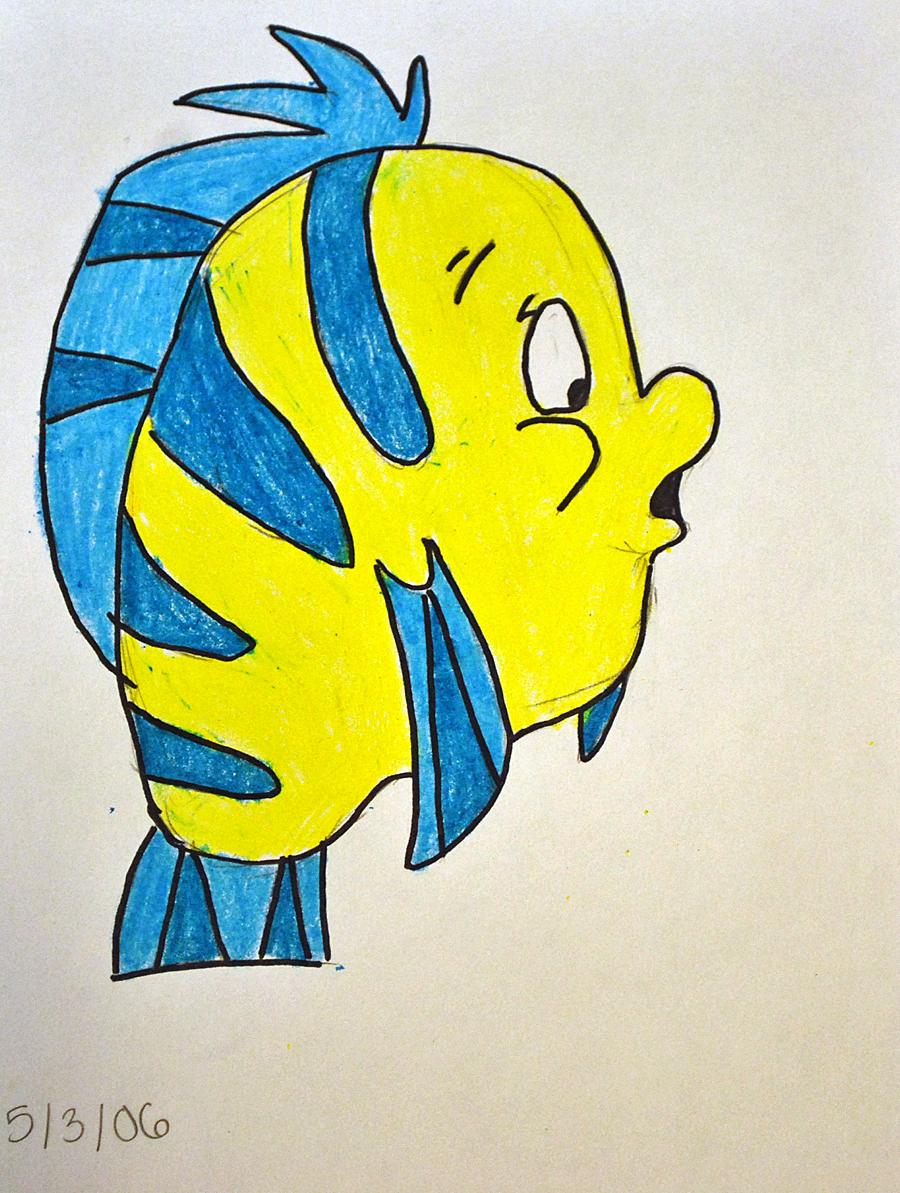 flounder drawing by kg1507 on deviantart