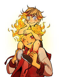 Daddy Flame by sounf