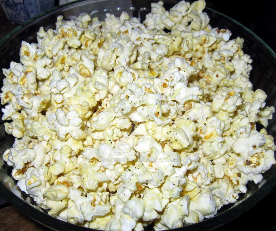 Popcorn Wallpaper: Popcorn By TheQueenofNerds On DeviantArt