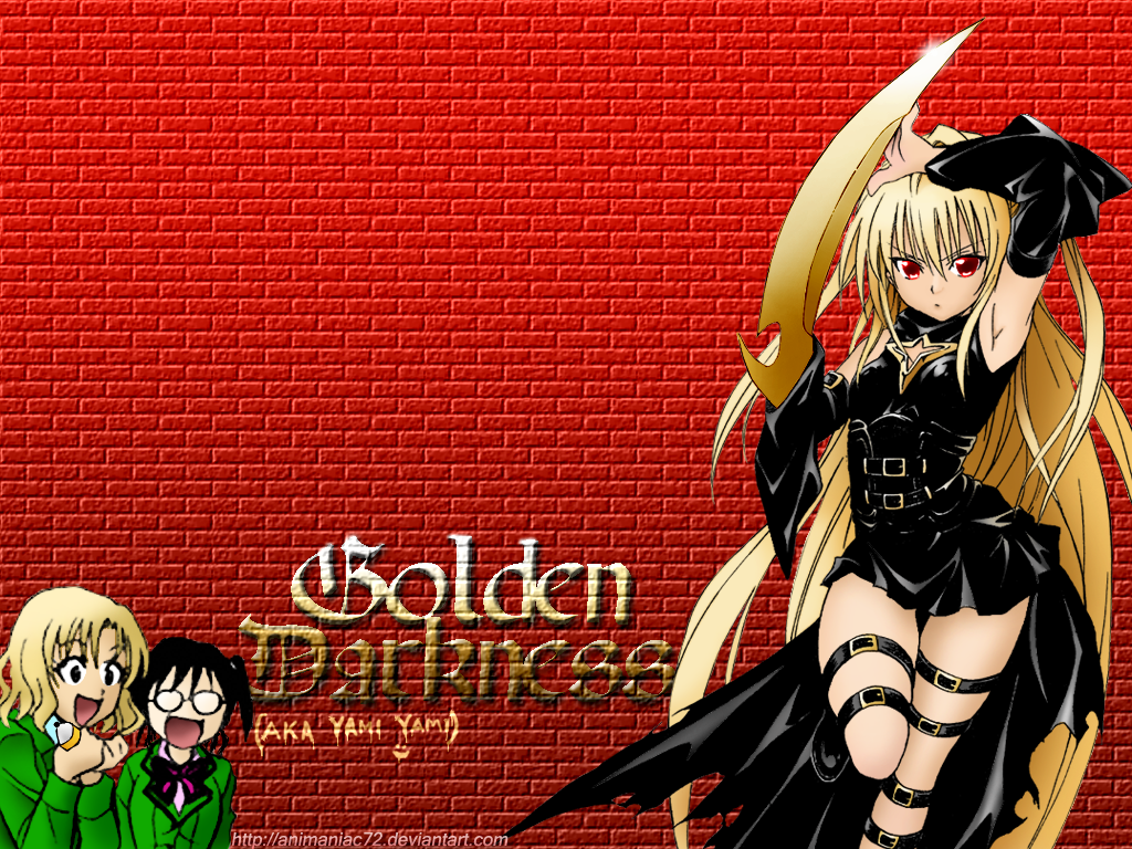 Golden Darkness of To-LOVE-Ru by animaniac72