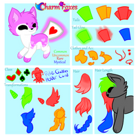 Charmfox OPEN species Reference sheet + basic lore
