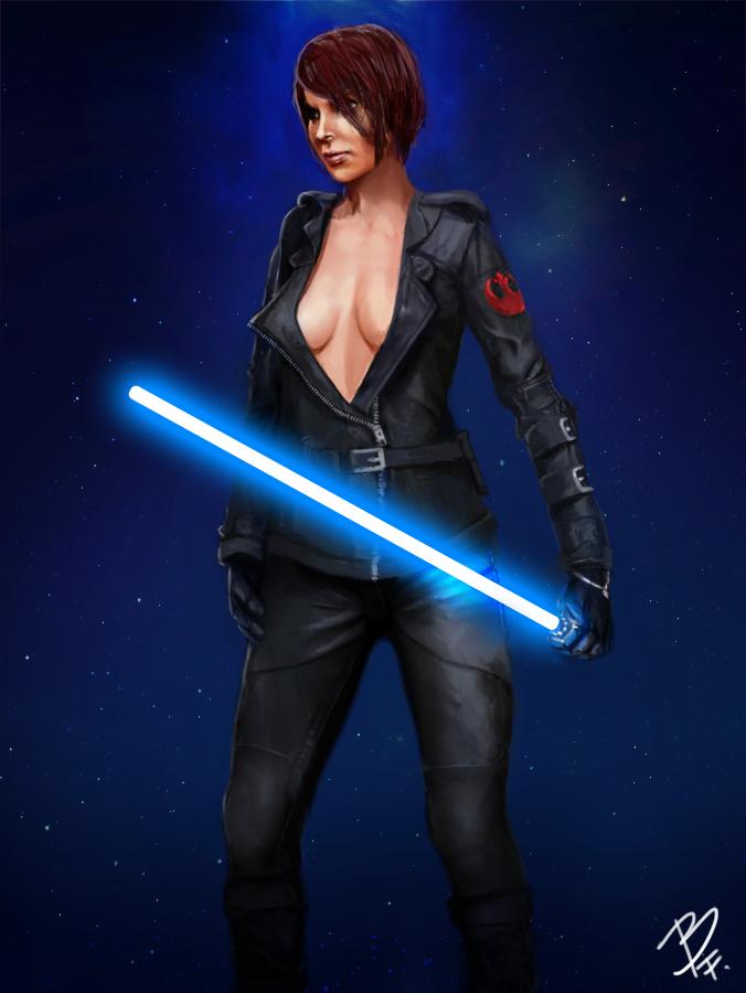 Naked Jedi Women 76