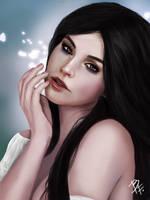 Portrait female by BluefireArt