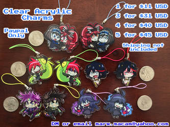 Acrylic Charms for Sale!