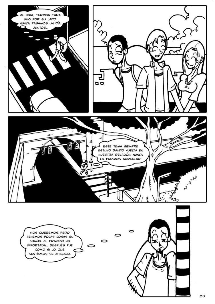 ELLA Y YO - PAG 3 by Cosmicos
