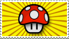 Super Mushroom Stamp by deadspaceheart