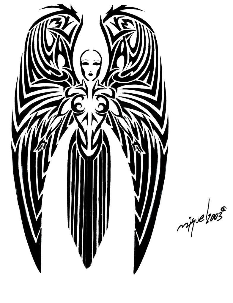 Angel tattoo by midnite7175 on deviantart angel tattoo by midnite7175 buycottarizona Gallery