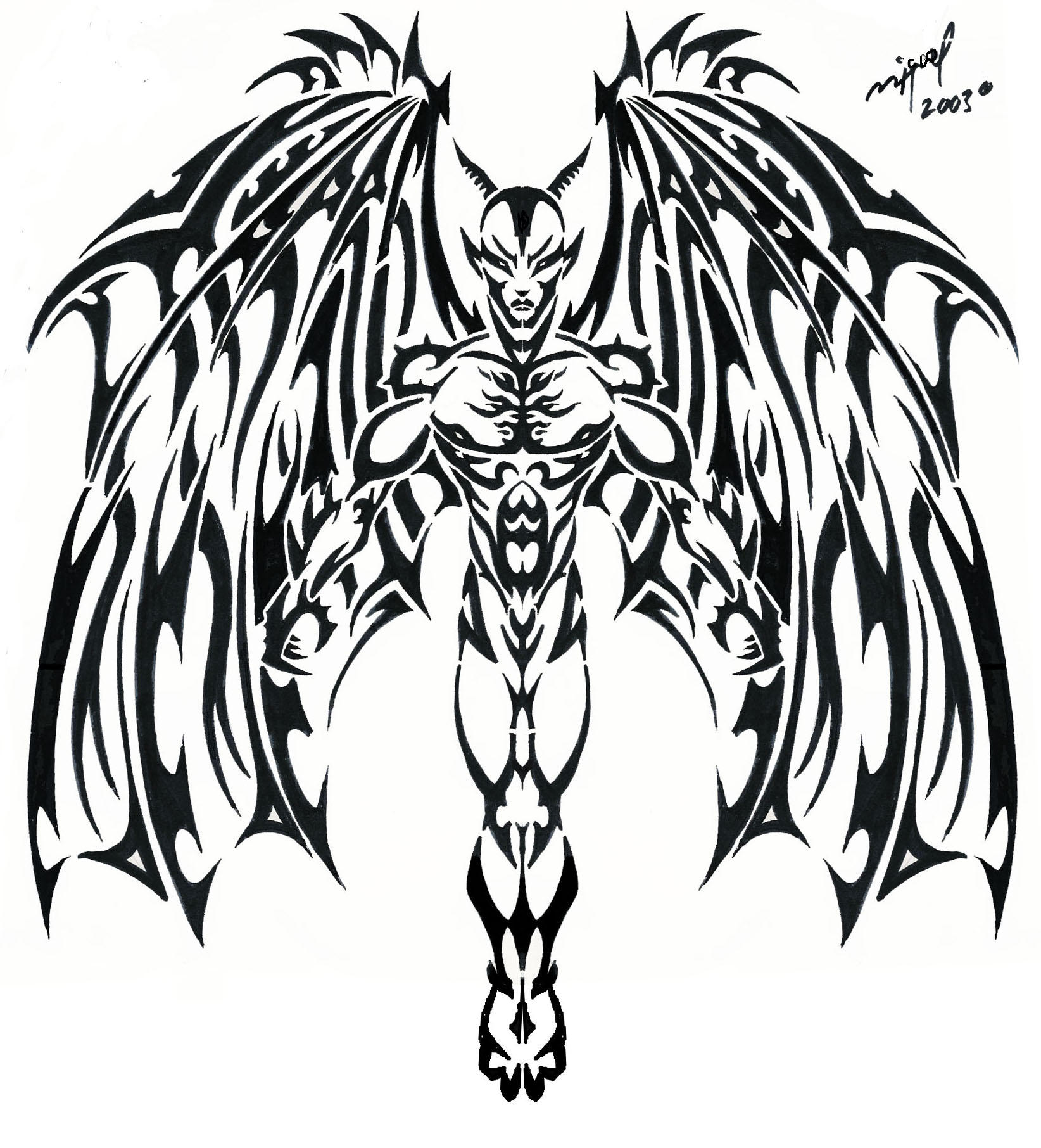 Tattoo Joker furthermore Skull And Demon Tattoo Design 316334324 furthermore Cool Tribal Tattoos And Perfect Tattoos moreover 392728029977651198 additionally Tattoo 01 blogspot. on scary clown killing