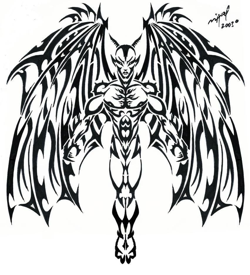 Devil Tattoo by Midnite7175 on DeviantArt