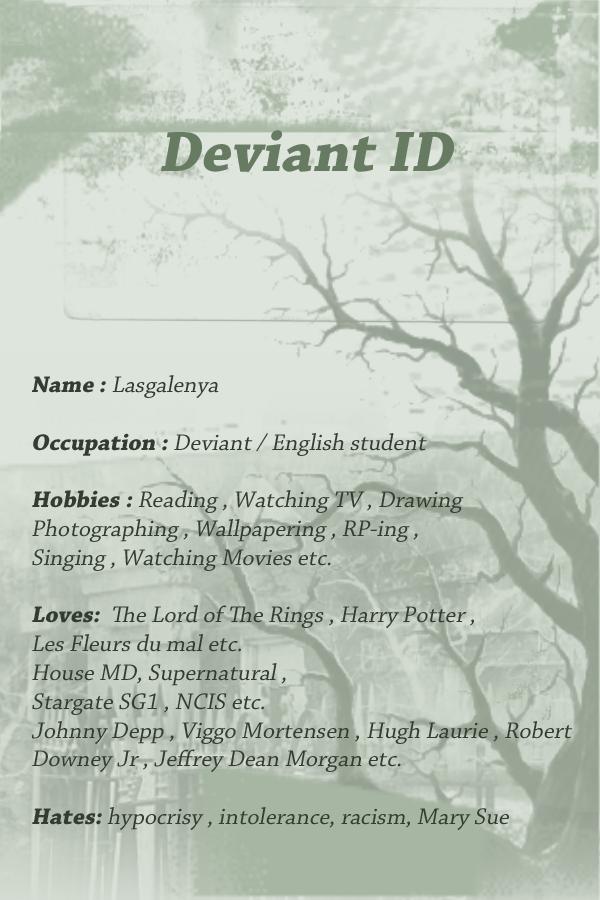Lasgalenya's Profile Picture