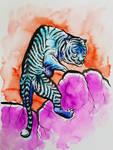 Fierce Tiger by ArtbyKy444