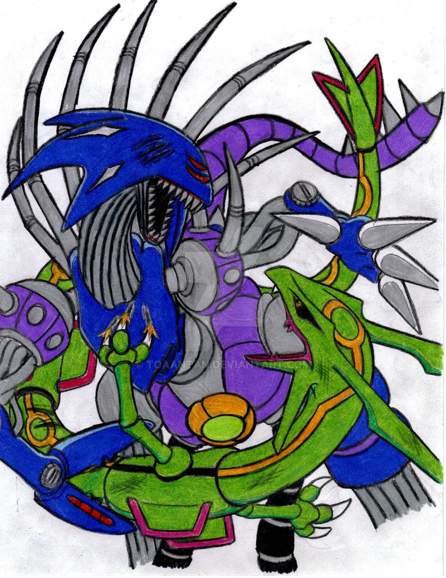 Metal Overlord vs Rayquaza