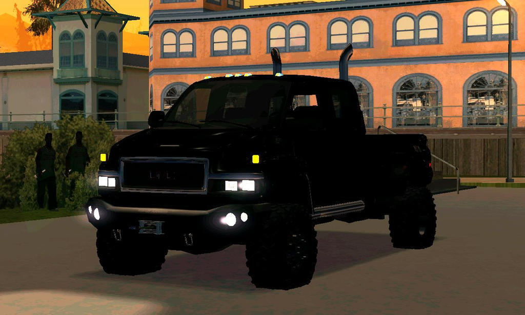 Gta San Andreas Gmc Topkick Road Armor Ironhide By HD Wallpapers Download free images and photos [musssic.tk]