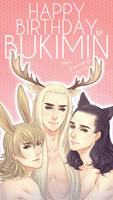 Happy Birthday to Bukimin by seirenity