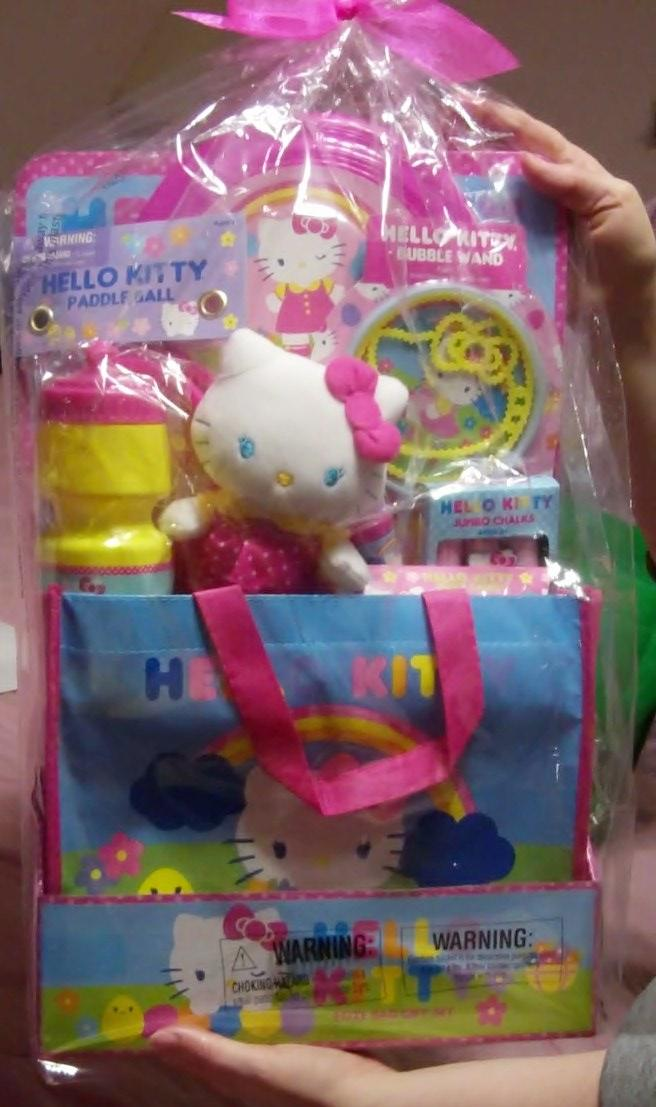Hello Kitty Easter Basket