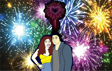4th of July with April and Casey by AprilONeil1984
