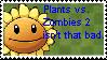 Plants vs. Zombies 2 defense stamp by Espio143