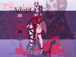 ADOPT [ Oni girl by greenu.] closed