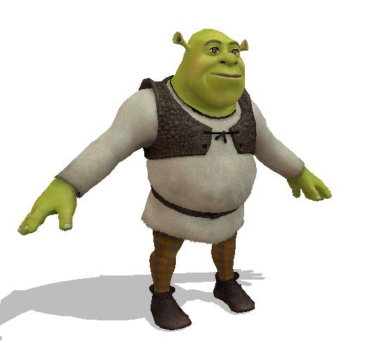Shrek - MMD by mmdspot