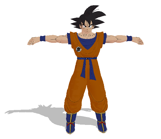 Goku by mmdspot