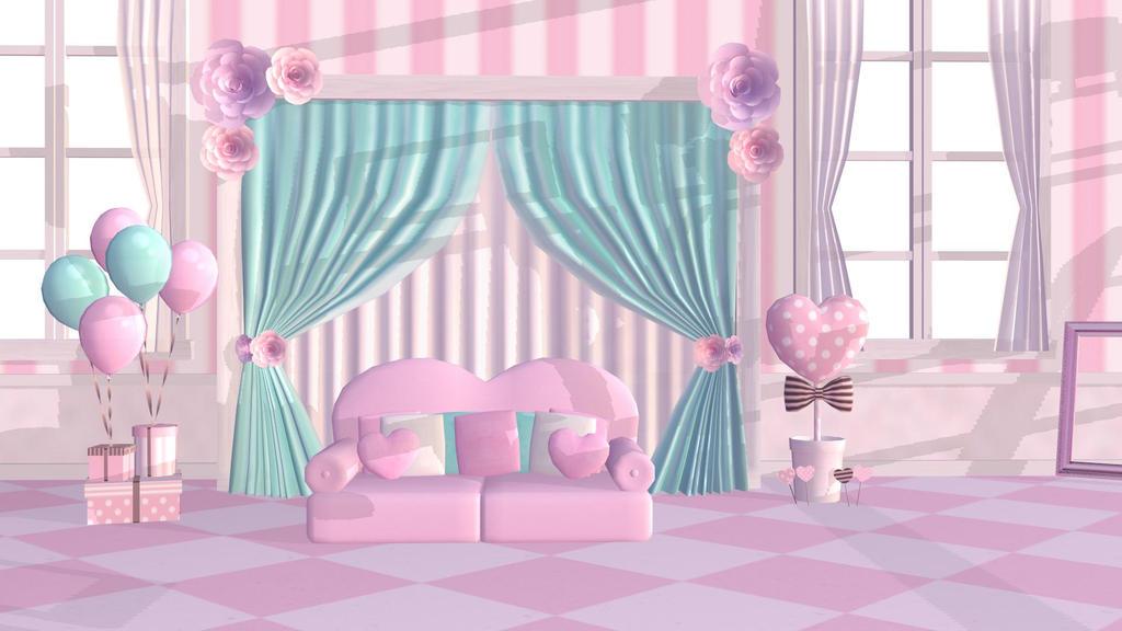 Sweet Room Stage Mmd Dl By Mmdspot On Deviantart