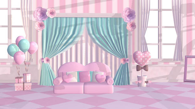 Sweet Room Stage MMD DL