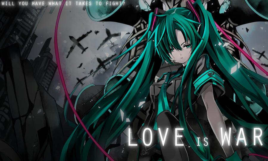 Wallpaper - Love is War by FastSpeedy on DeviantArt