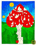 Valentine Mushroom by Ingostan