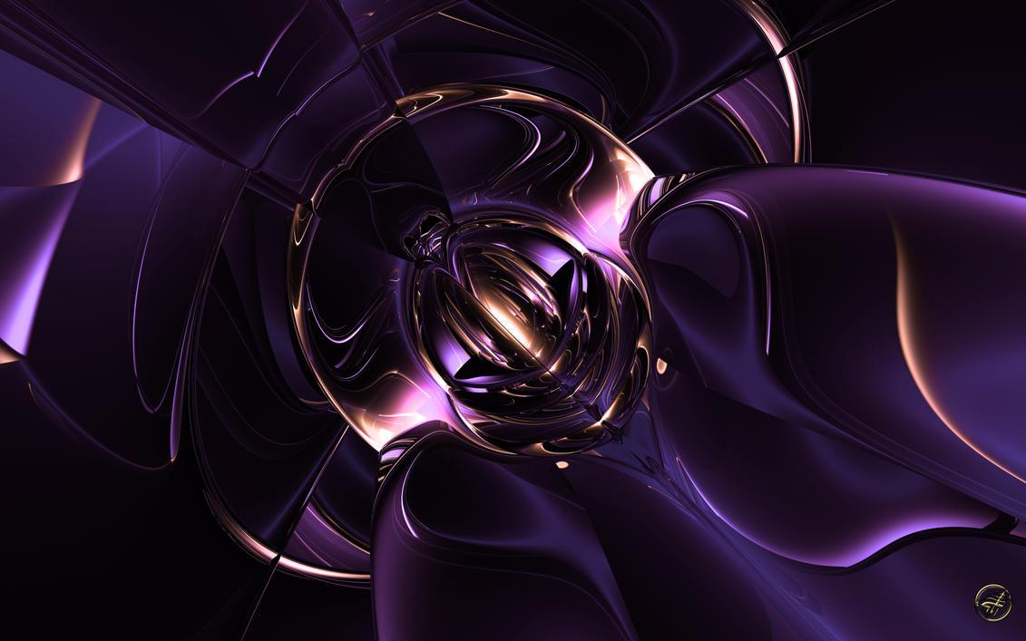 Think Purple - Wide by Ingostan