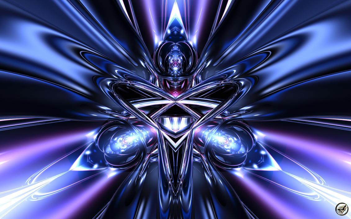Triangular Heart - Wide by Ingostan
