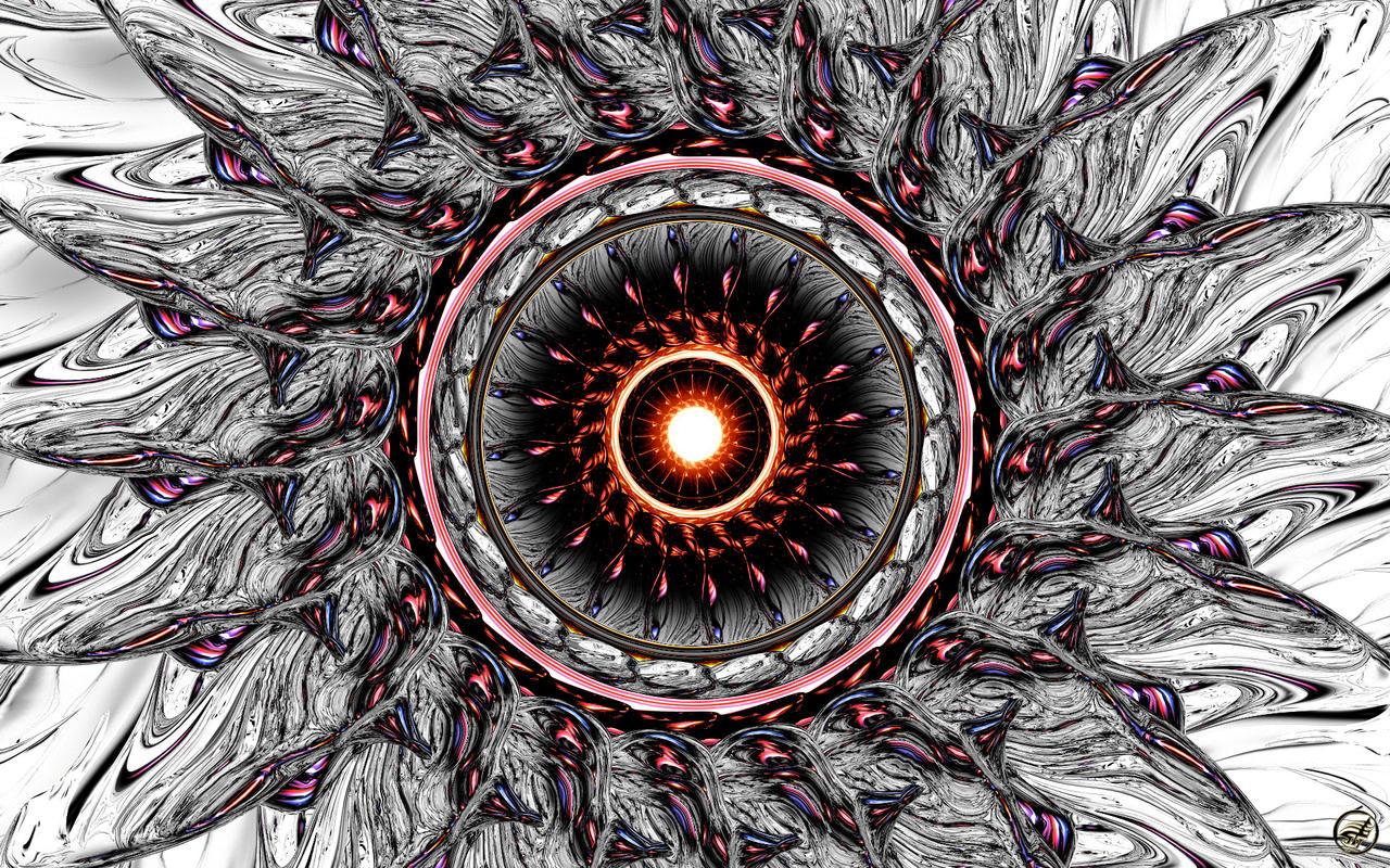 Mandala Eye - WS by Ingostan