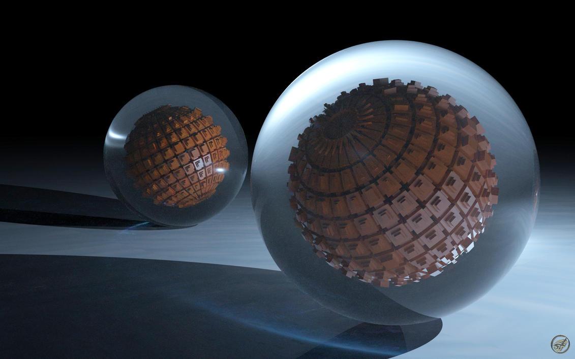Things In Spheres - 1 - WS by Ingostan