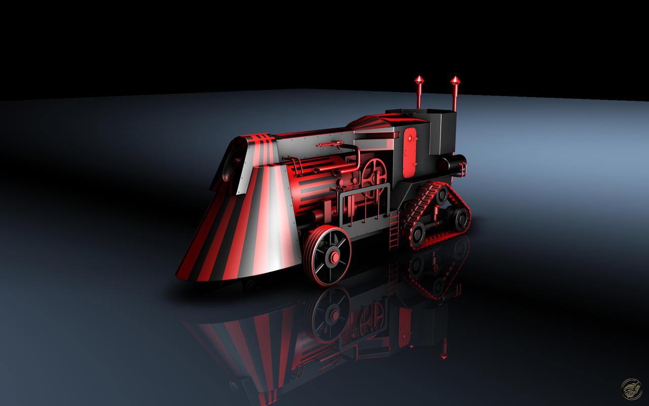 SteamPunk Train - WS by Ingostan
