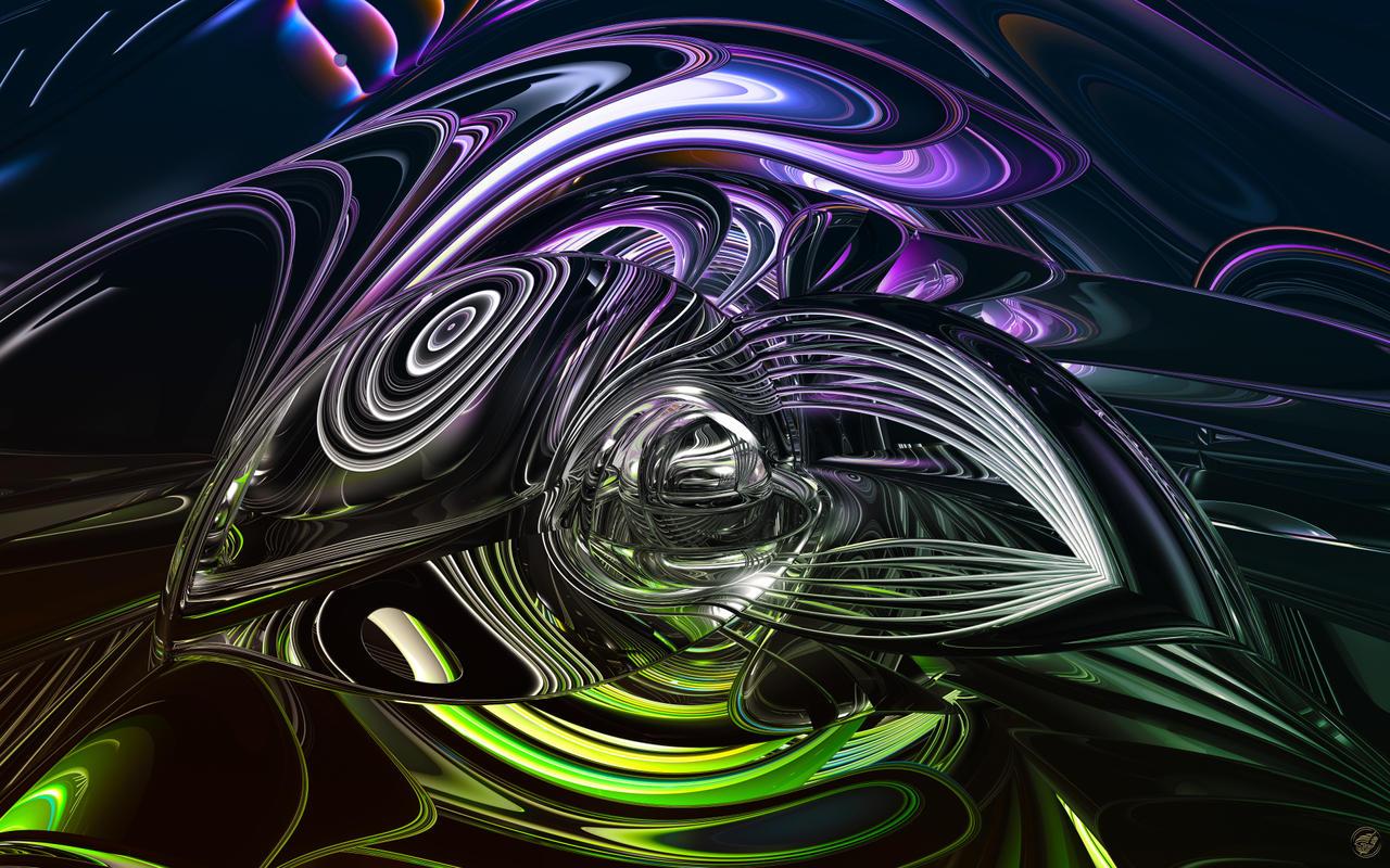 Zebralistic Swirls - WS by Ingostan
