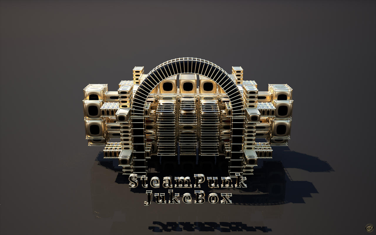 Steampunk Jukebox - FryRender by Ingostan