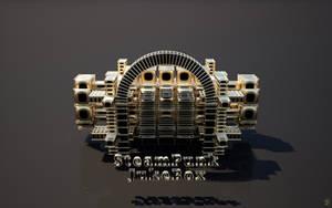 Steampunk Jukebox - FryRender by Ingostan