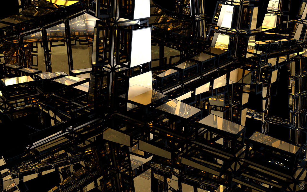 Black n Gold construction - 2 by Ingostan