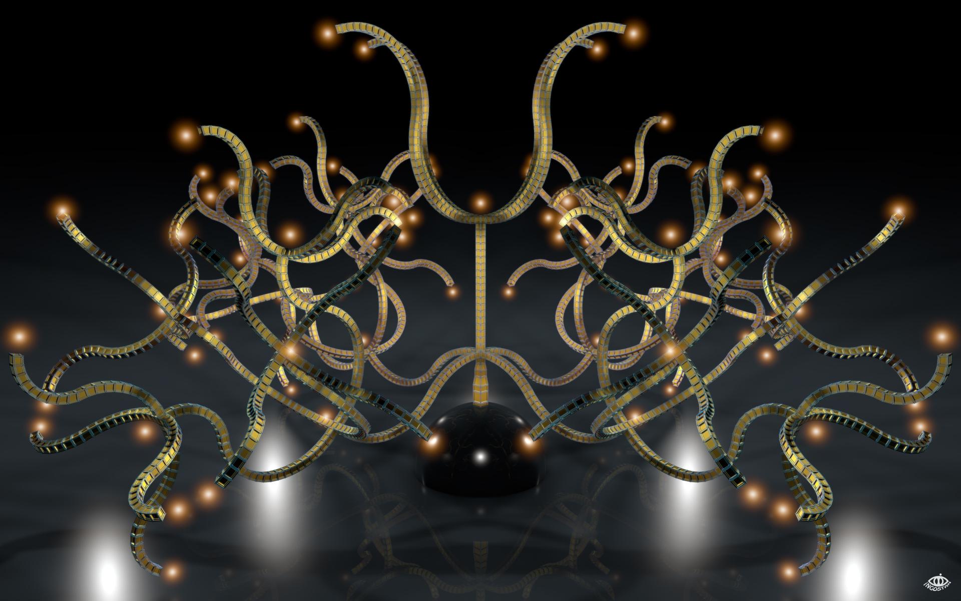 Abracadabra Candelabra by Ingostan