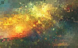 nebula sunrise by noneOfUs