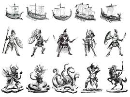 cyclades concepts by MiguelCoimbra