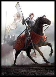 Joan of Arc by MiguelCoimbra