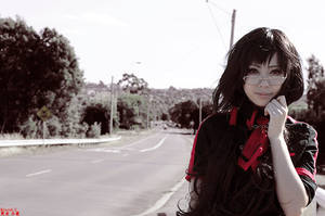 Blood C || Kisaragi Saya by HAPPYHAHA