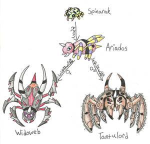 Fakemon - Spinarak Family