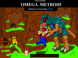 Newcomer: Omega Metroid by UltimateRidley