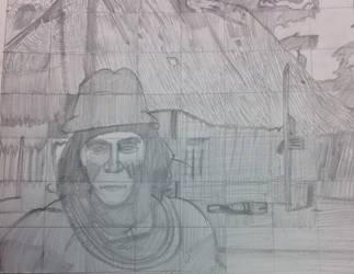 Grid Drawing Practice by iamdattran