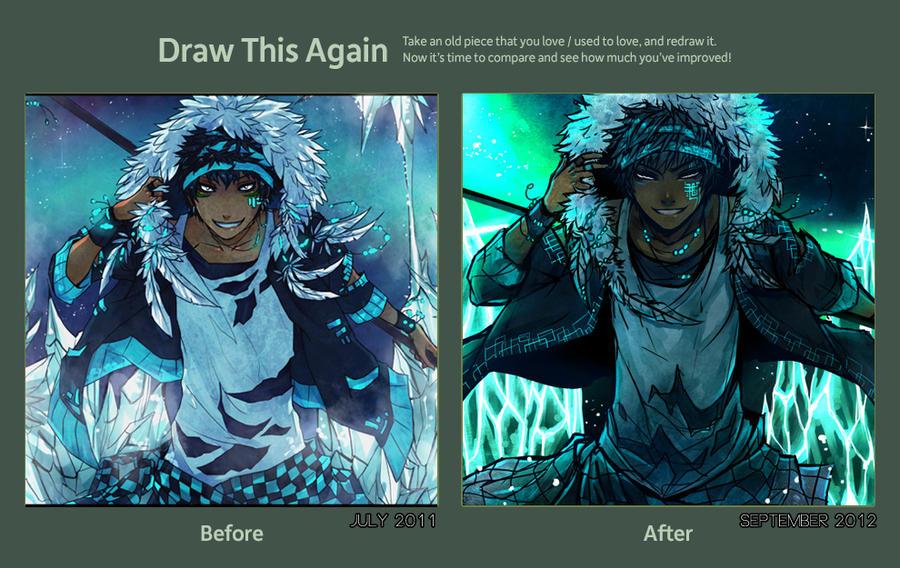 draw this again by almandium