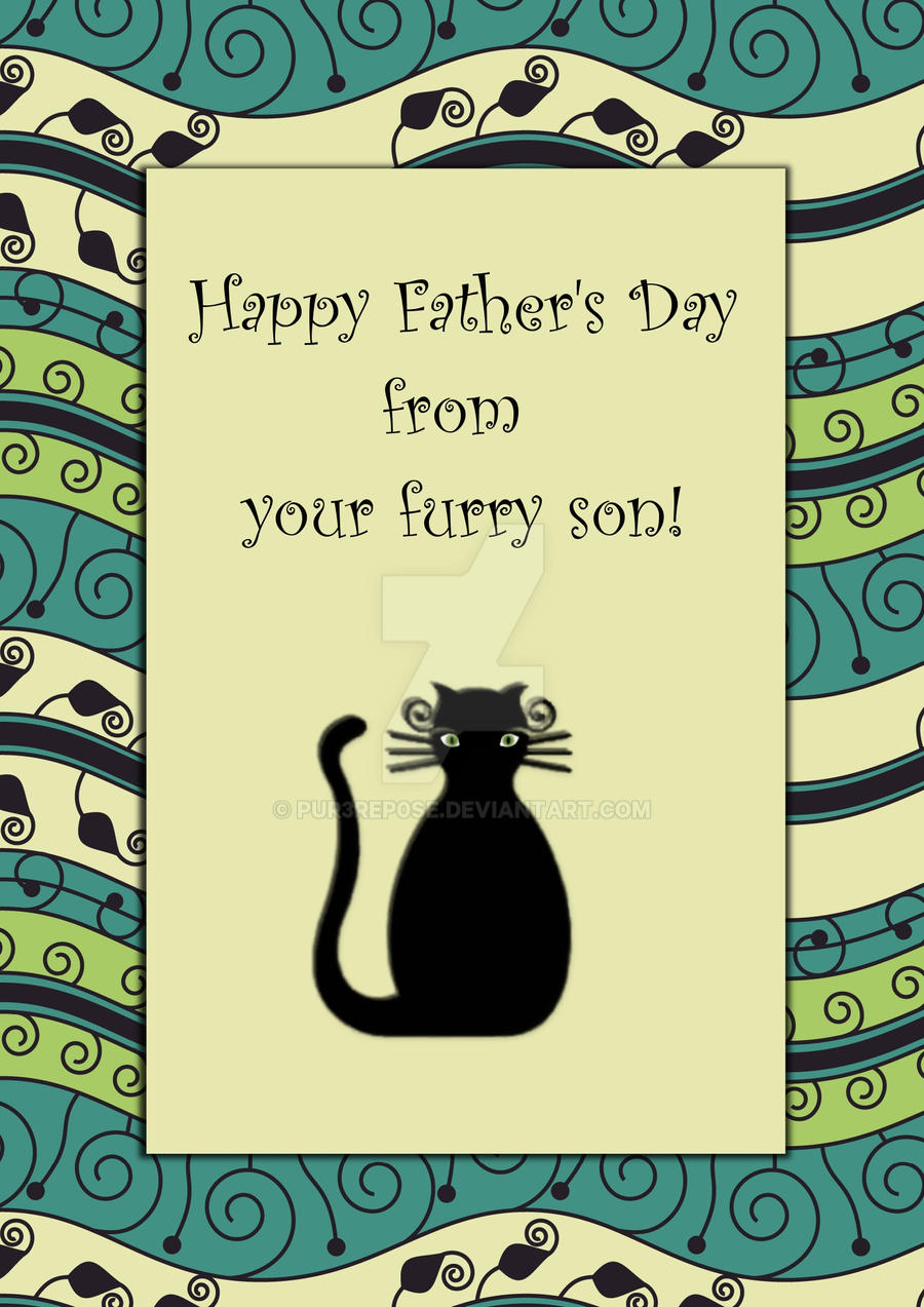 Happy fathers day black cat by pur3rep0se on deviantart happy fathers day black cat by pur3rep0se sciox Gallery