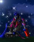 Optimus and Elita-one